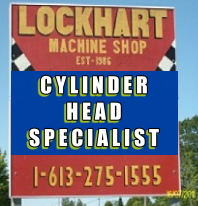 Lockhart Machine Sign