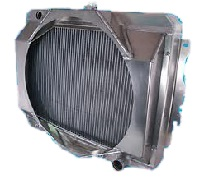 down flow radiator